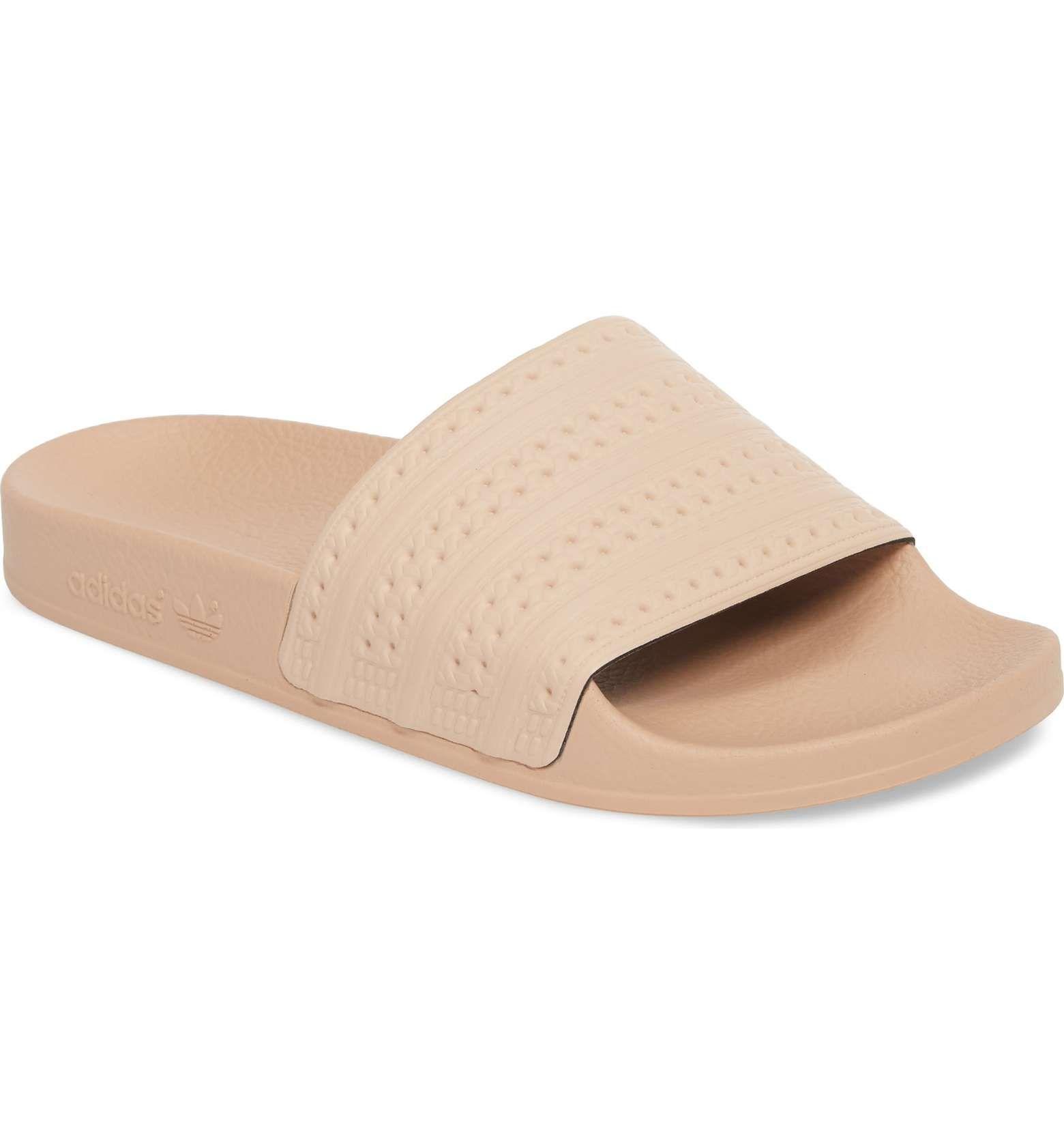 79b71d9d842211 Main Image - adidas  Adilette  Slide Sandal (Women)