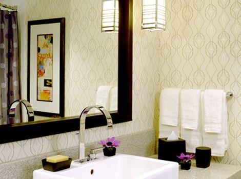 bathroom wallpaper | bathroom | pinterest