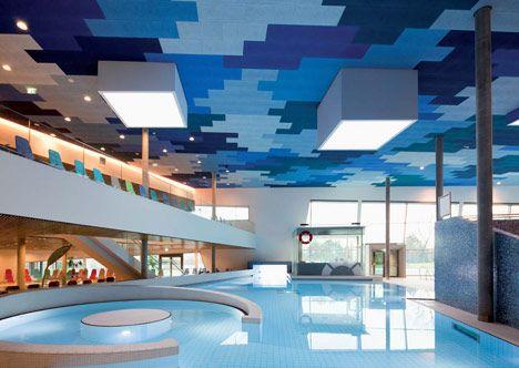 therme wien by 4a architekten ceiling design best interior most luxurious hotels