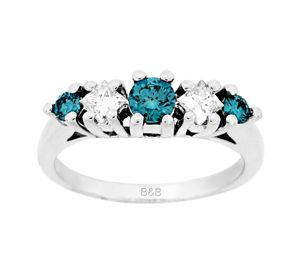 Sandra Biachi Color Diamond Jewelry ring