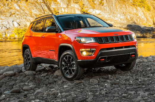2019 Jeep Compass With Red Tow Hooks Jeep Compass Jeep Jeep Dealer