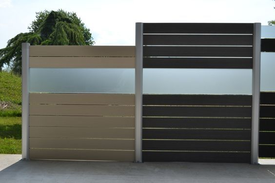 Wood Plastic Fence Contractors In UK ,green Composite
