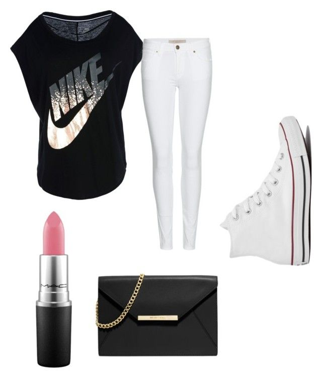 Awesome Stuff by rosie49120 on Polyvore featuring polyvore fashion style NIKE Burberry Converse MICHAEL Michael Kors MAC Cosmetics