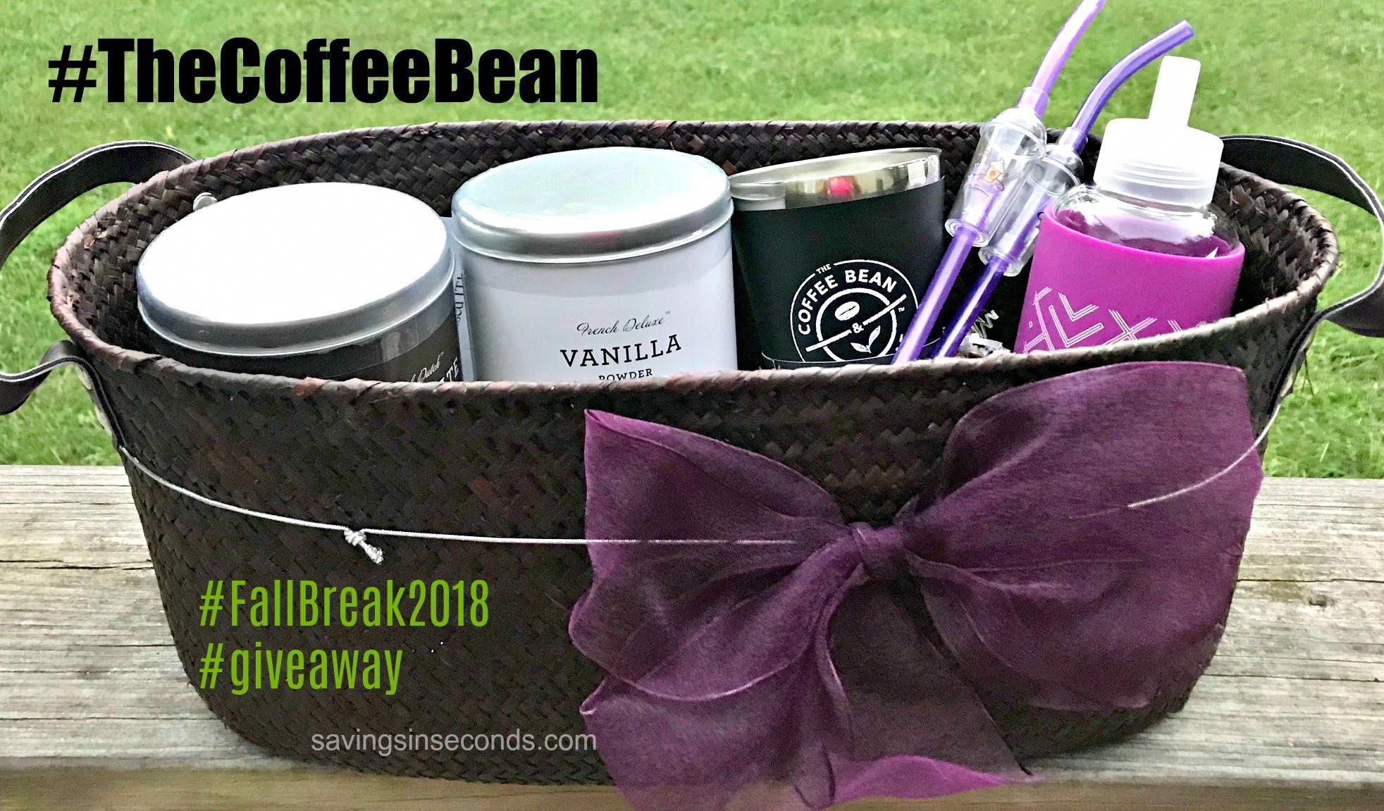 Savings in Seconds Coffee Bean and Tea Leaf giveaway