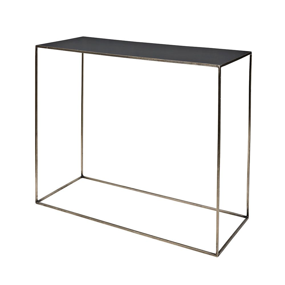 Wmg Konsolentisch Sideboard Lima Metall Schwarzbraun Freja Table 40x100 Cm Steel Castlerock 247 Backyard In 2019