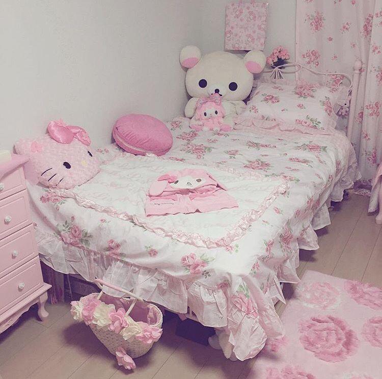 Kawaii Bedroom, Cute Room Ideas, Cute