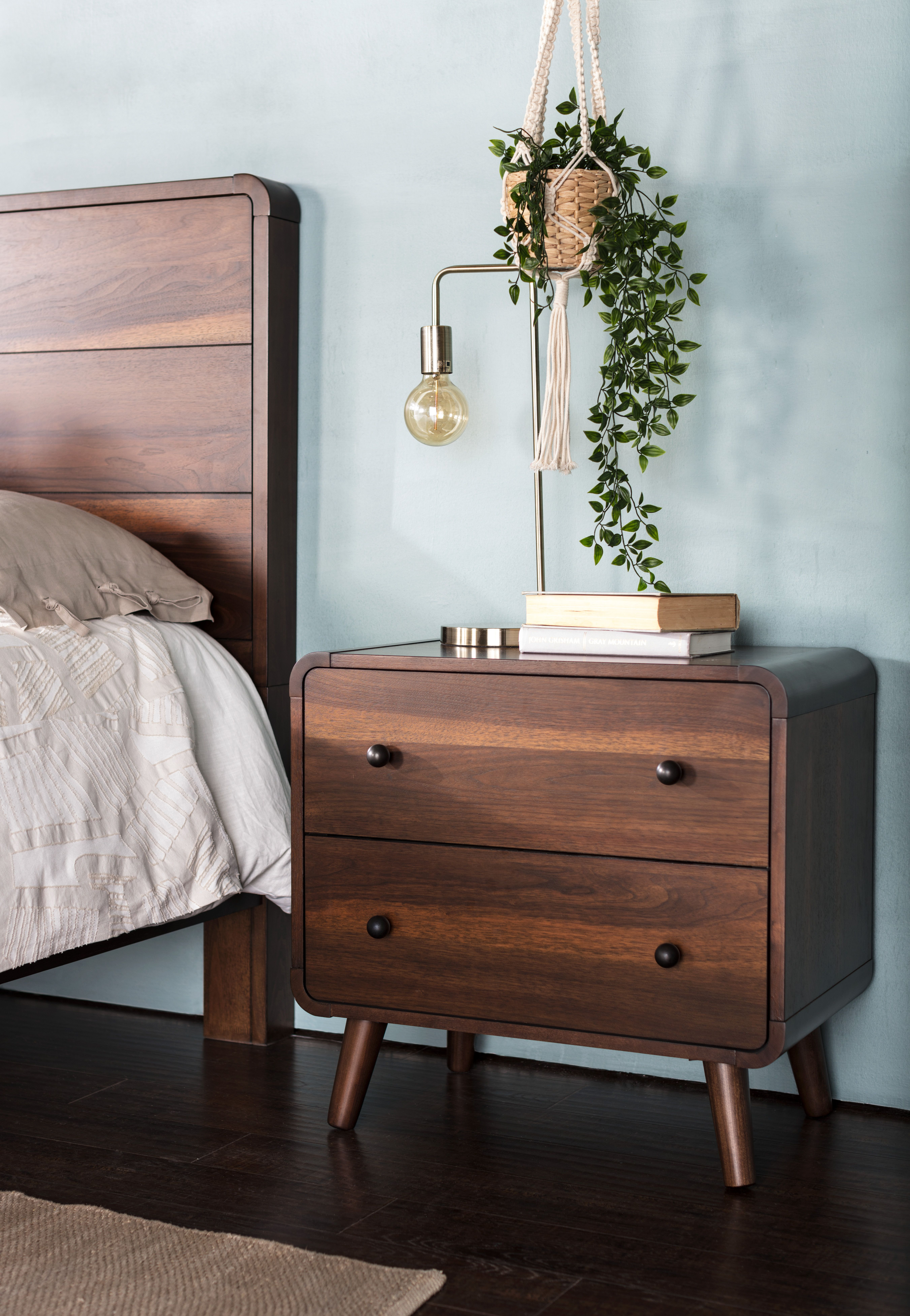 Contemporary Nightstands Find The Perfect Bedside Companion For