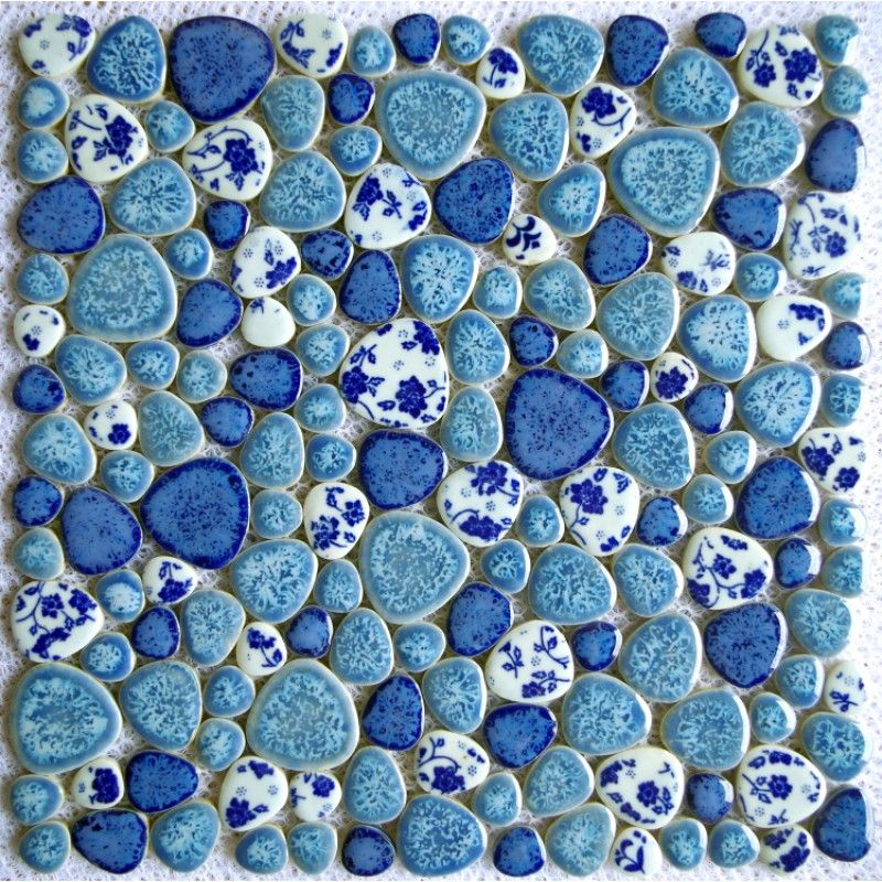 Home Improvement Wallpapers China Fambe White Brown Ceramic Mosaic Tiles For Kithchen Backsplash Shower Bathroom Wall Sticker Pool Floor Tile Diy Decorate