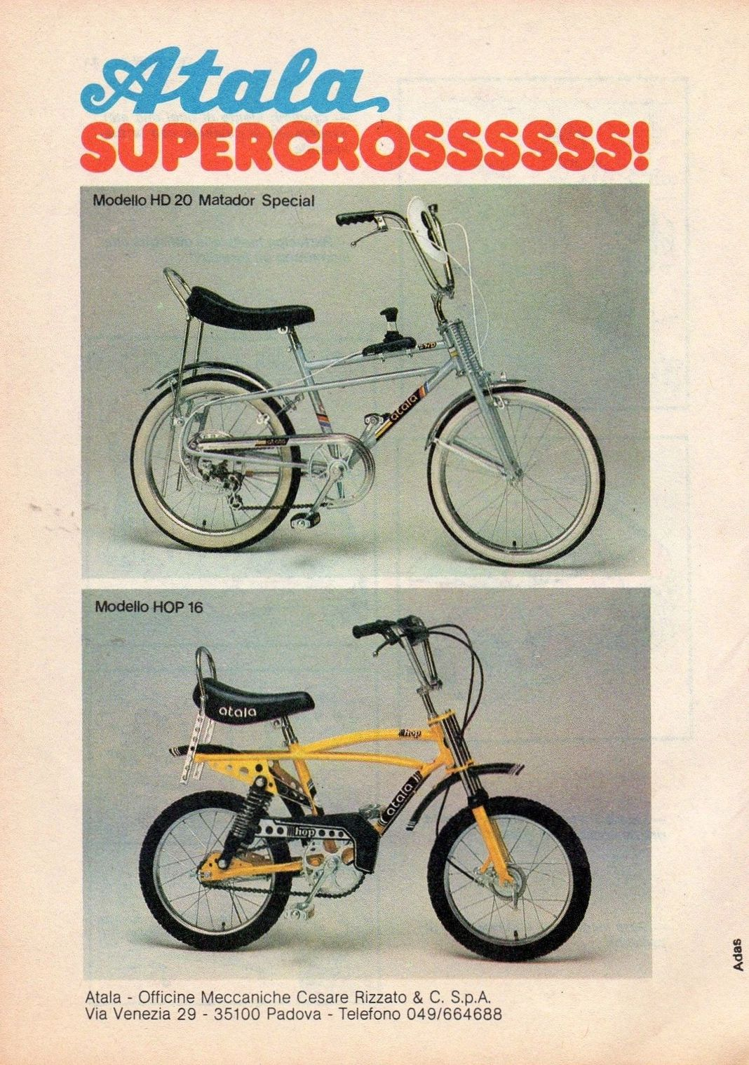 Atala 1979 Chopper Bike Ideas Raleigh Bmx Stuff