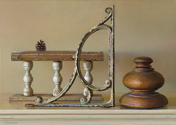 Jeffrey T. Larson  Form and Function oil on canvas 2008