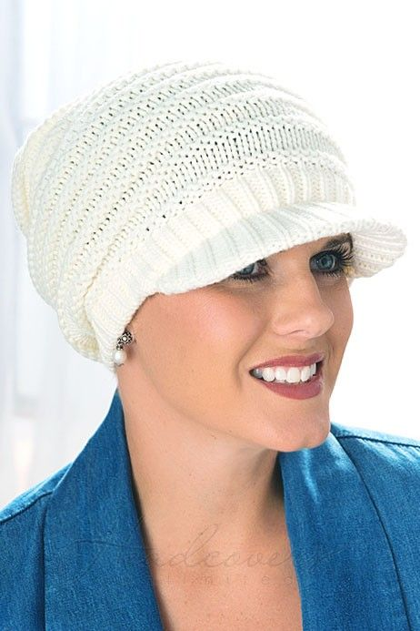 Meridy Brimmed Beanie Hat: Chemo Hats | Headcovers.com | DIY ...