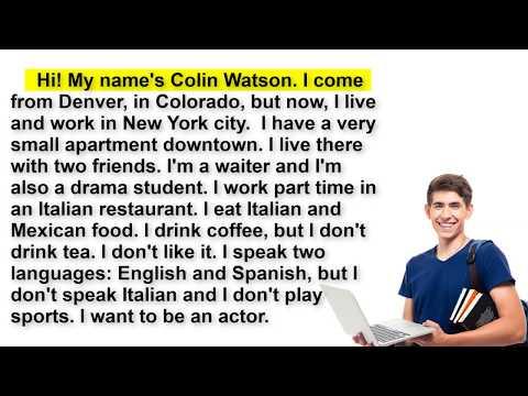 27 القراءة باللغة الانجليزية وتحسين مهارة النطق بطريقة فعالة جدا Youtube Work In New York Learn English Live In The Now