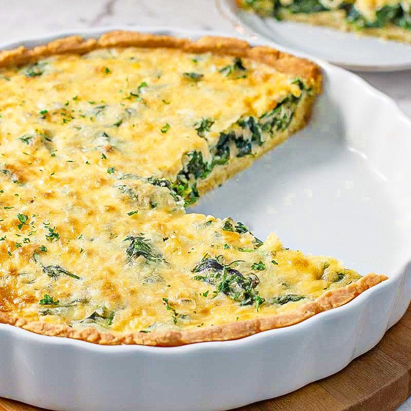 Everyday Reading Vegetarian Recipe 15 Spinach Quiche Spinach Quiche Quiche Recipes Recipes