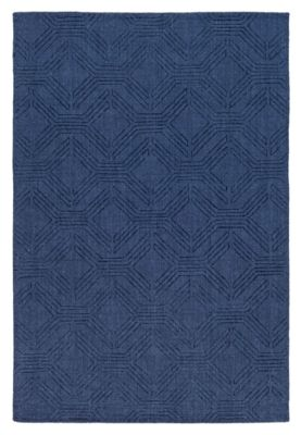 Home Accents Ashlee 8 X 10 Area Rug Navy Rugs Area Rugs