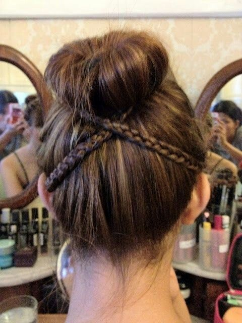Could Be Used For A Dance Recital Or Audition Very Very Cute Hair Styles Hair Beauty Long Hair Styles