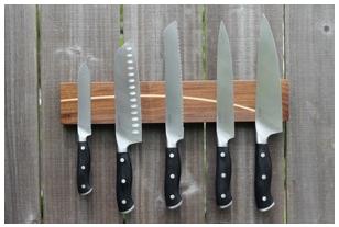 Magnetic Knife Board From Portland Artist Stefan Straka Www