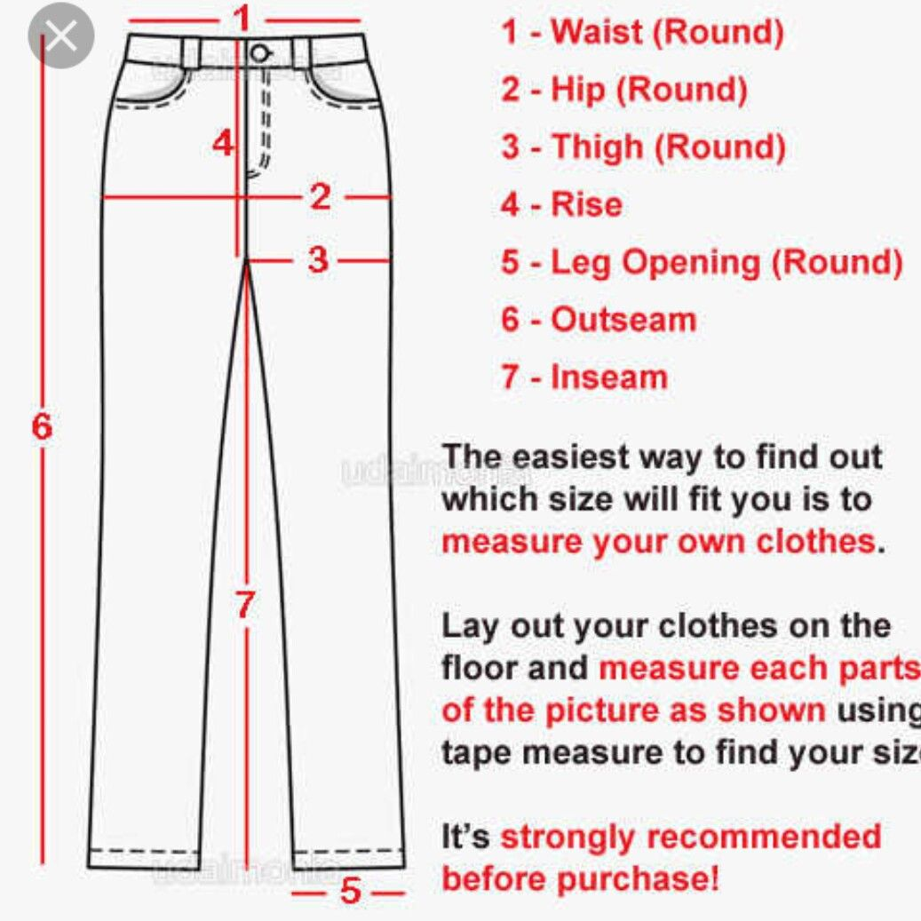 Measuring pants how to find out life hacks for school