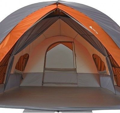 Ozark Trail 8-Person Dome Tunnel Tent With Maximum Weather Protection & Ozark Trail 8-Person Dome Tunnel Tent With Maximum Weather ...