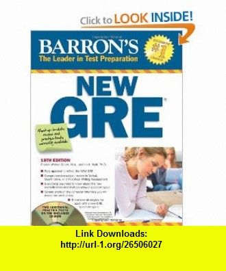 Barrons New Gre 19th Edition Ebook