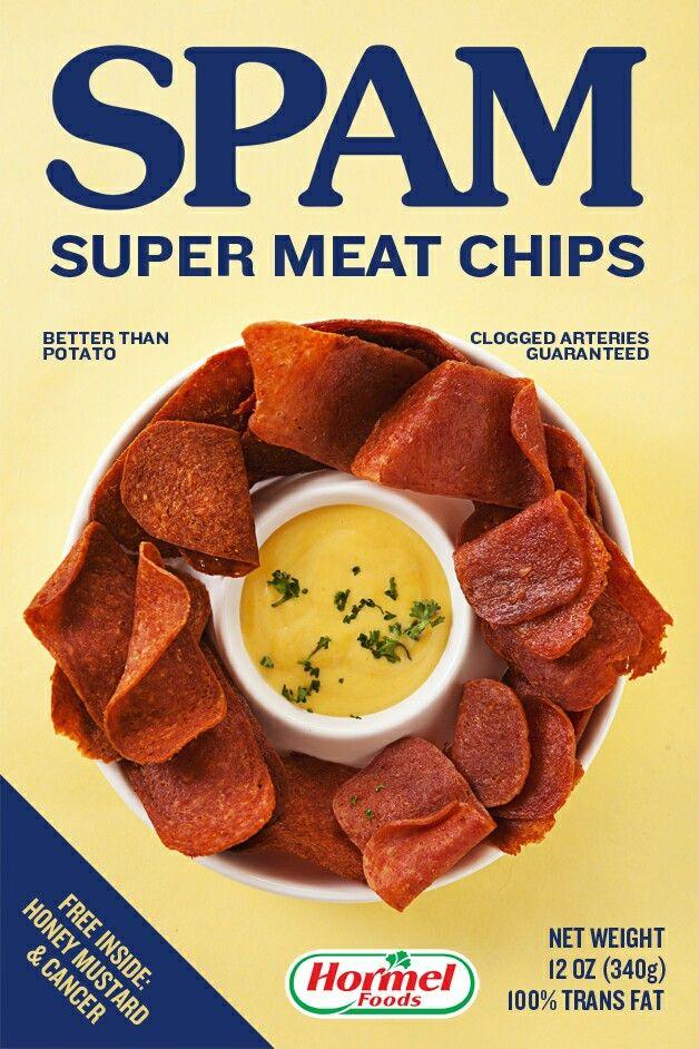 Hormel Spam Super Meat Chips No Thanks Spam Recipes Hormel Recipes Recipes