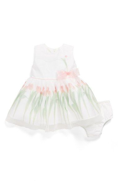 Us Angels 'Photo Reel - Mesh Tulip' Dress (Baby Girls) available at #Nordstrom