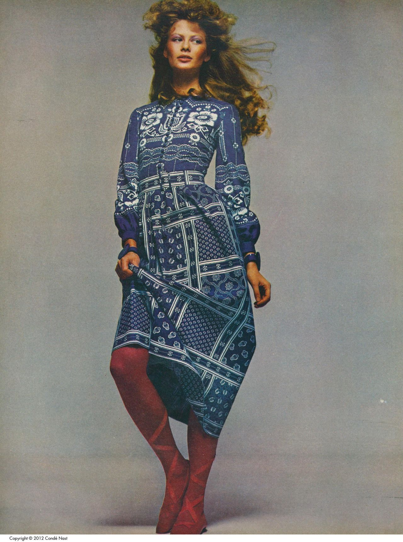 1970s Seventeen Magazine It S That Bohemian Things Again: Vogue, January 1971 (With Images)
