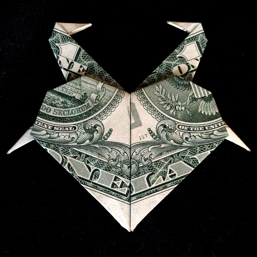 Money origami heart with flamingos real one dollar bill gift idea money origami heart with flamingos real one dollar bill gift idea by trinket2shop on etsy jeuxipadfo Choice Image