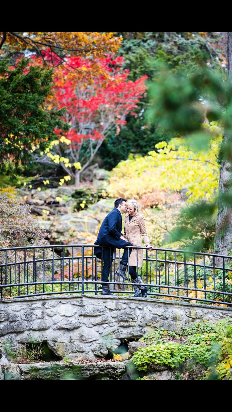 Fall colours and fall in love at High Park in Toronto
