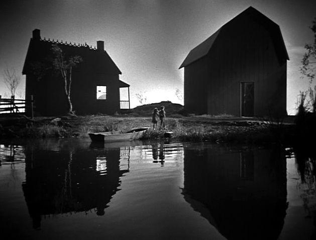 CINEMOSAIC: THE NIGHT OF THE HUNTER (1955) | Light in the dark, Film  stills, Cinematography