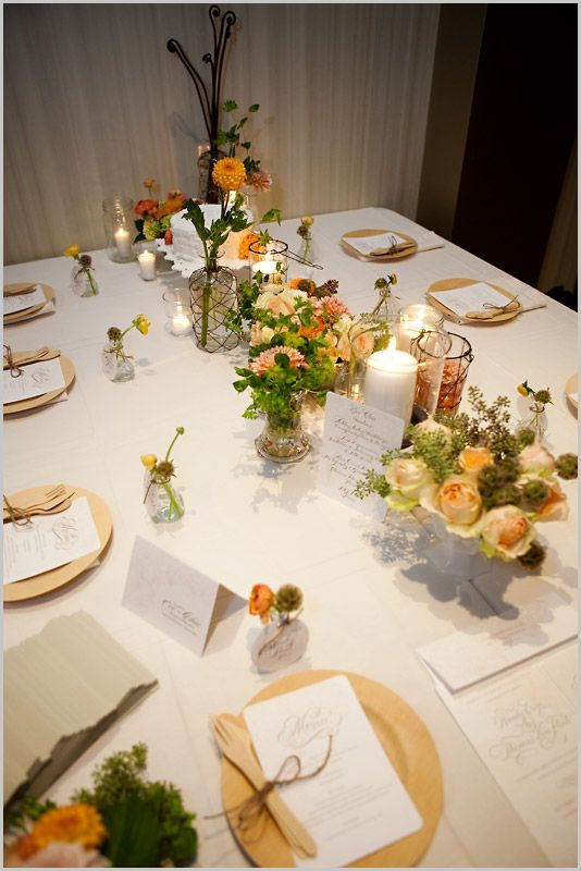 Bambu Place Settings Via Visual Luxury Artstar Atlanta Wedding Photography