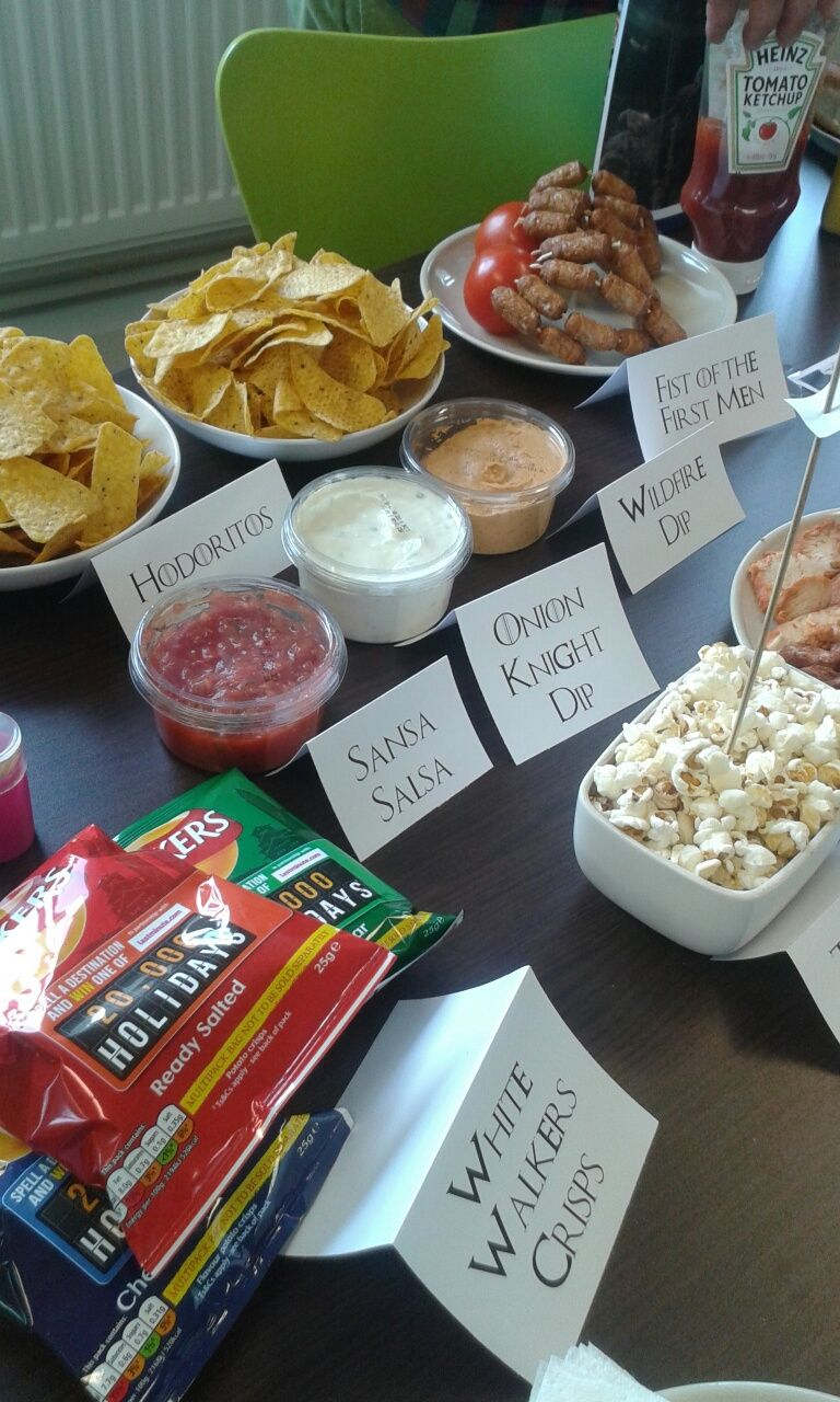 Game Of Thrones Party Food Ideas Game Of Thrones Party Food Game