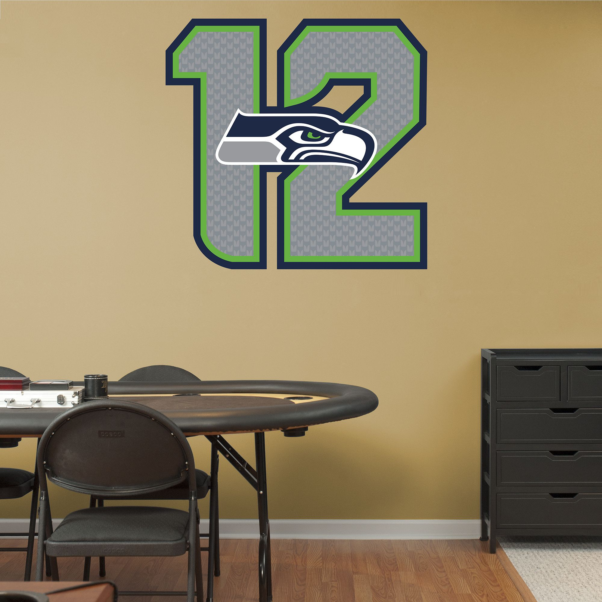 Seattle Seahawks 12 Logo | Seahawks, Seattle and Wall decals
