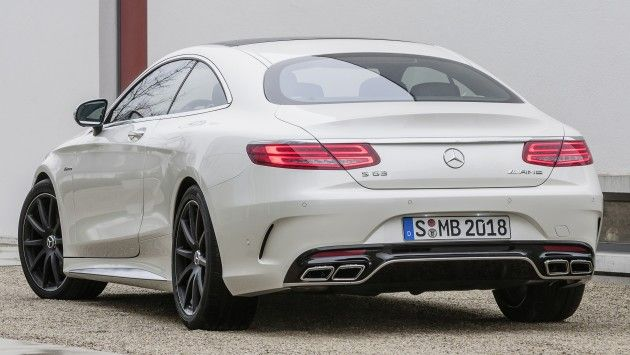 Mercedes-Benz S 63 AMG Coupe: sleek 585 hp bruiser