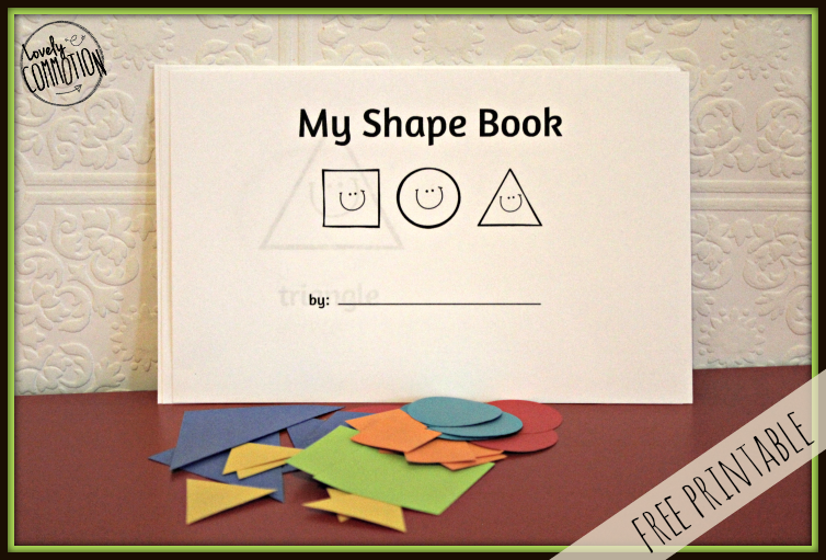 graphic regarding Shape Books Printable referred to as Easy Child Condition E book For Academics Form guides