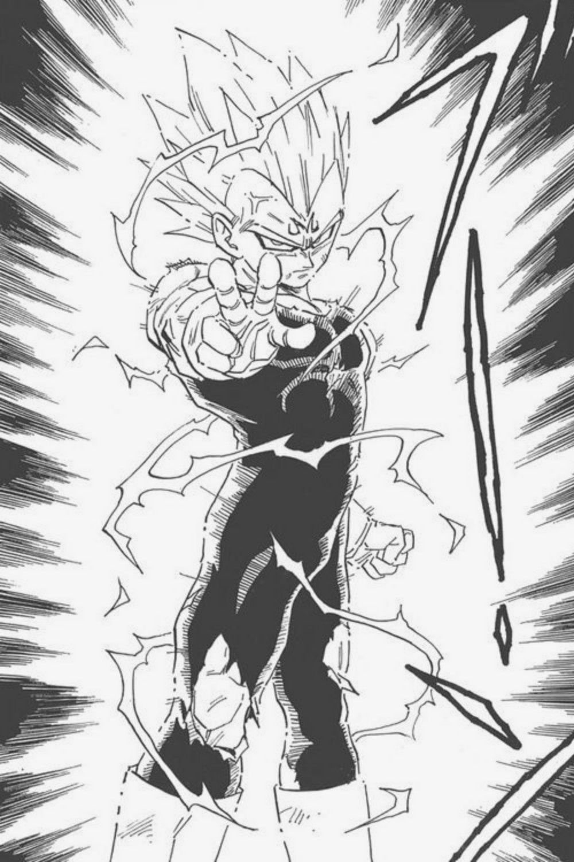 Majin Vegeta Anime Canvas Dbz Manga Dragon Ball Tattoo