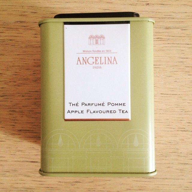 Le thé Angelina à la pomme