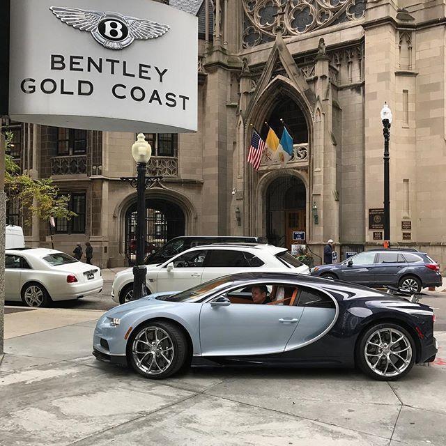 Special Delivery! #chiron #bugatti #goldcoastautogallery
