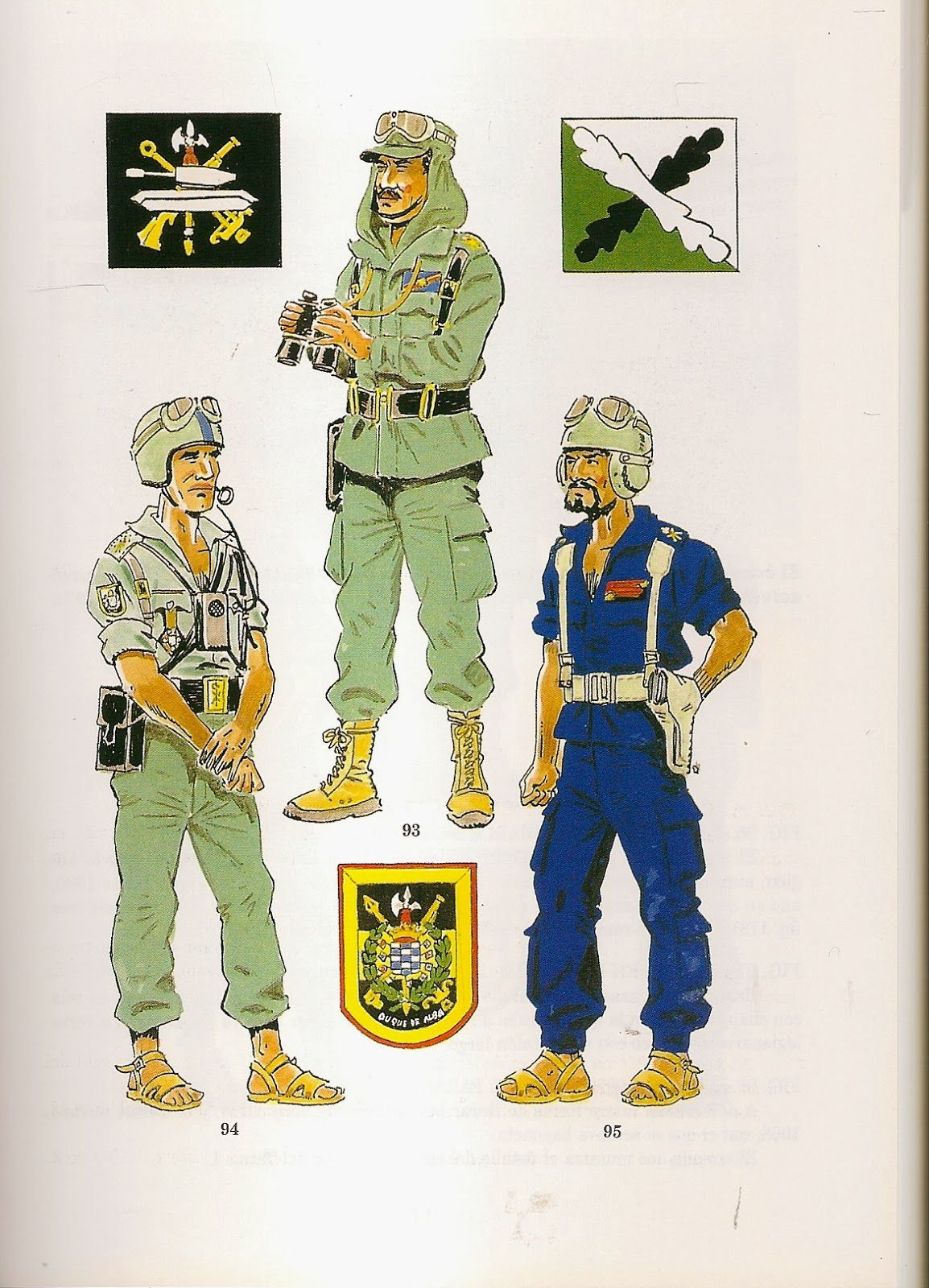 Tercios Saharianos Y Grupos Ligeros 1960 75 93 Comandante En Uniforme De Campaña Y Maniobras 94 Leg La Legion Española Uniformes Militares Tercios Españoles