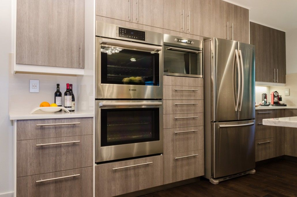 Ikea Cabinets Custom Made Doors Awesome Kitchen Con Imagenes