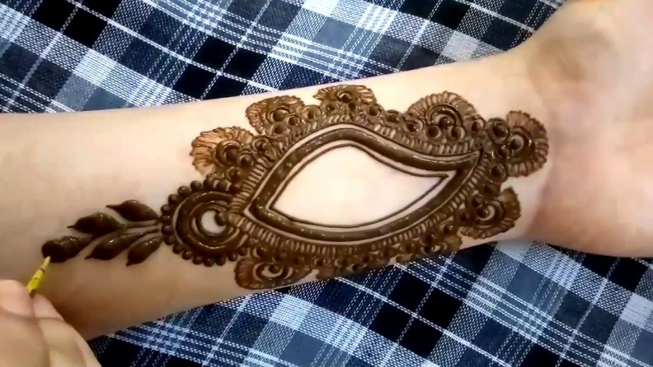 Easy Mehndi Ideas : New simple easy mehndi designs  fashion beauty