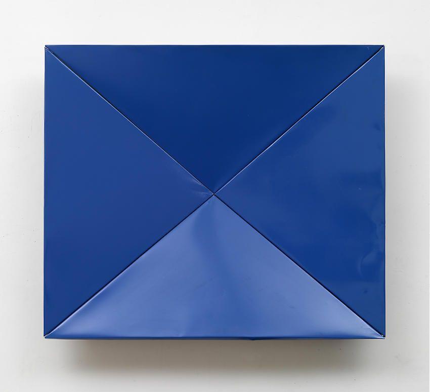 Faltung (Fold), 1965 RAL Blue Spray