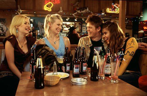 Still of Elisha Cuthbert, Kris Marshall and Ivana Milicevic in Love Actually