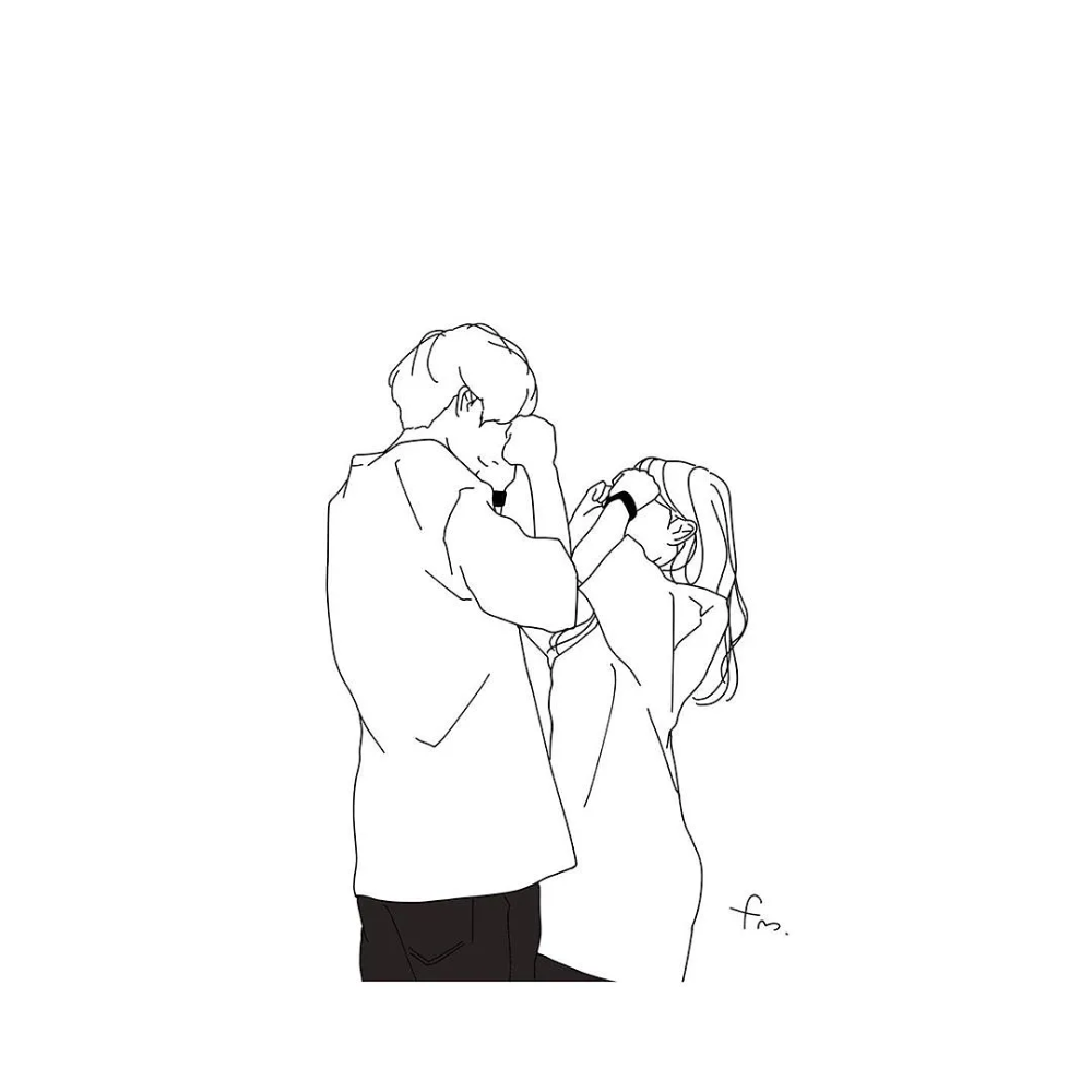 やっぱり好きだわ 彼をもっと虜にさせる彼女が仕掛けるバレンタインデート Mery メリー かわいいスケッチ 恋人 イラスト キュートなアート