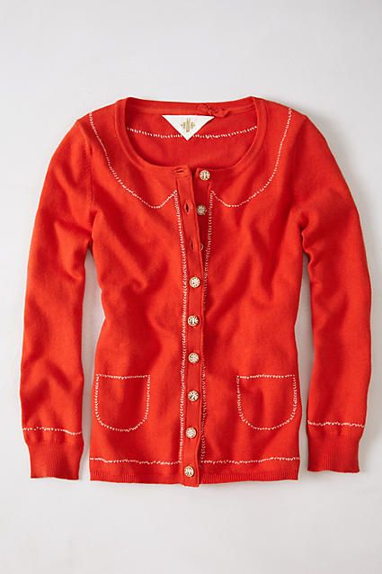 Mapleton Embroidered Cardigan
