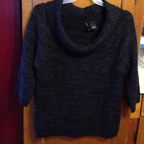 New Directions cowl neck sweater | Sleeve, Cowl neck and Cowl neck ...