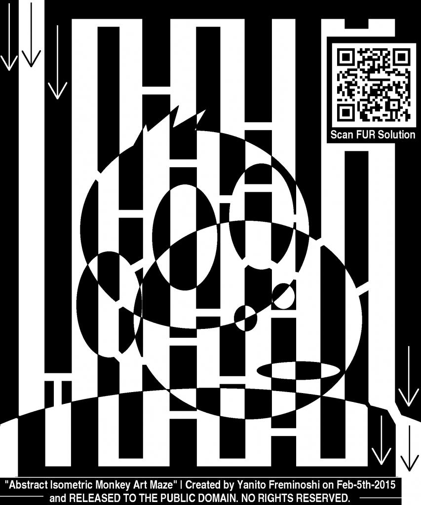 The Maze of Monkey Gambling (Research + Maze Monkey art