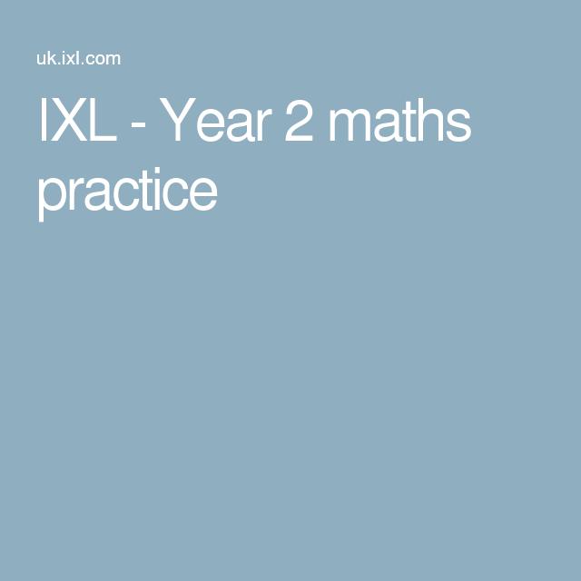 IXL - Year 2 maths practice   education   Pinterest   Math, Math ...