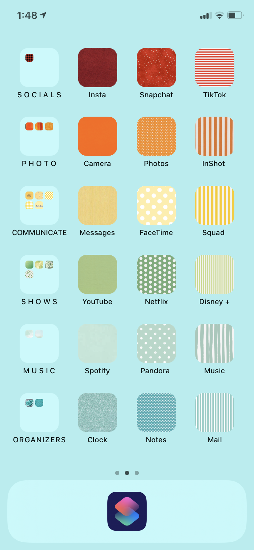 A Way To Organize Your Phone In 2020 Phone Apps Iphone Homescreen Iphone Homescreen