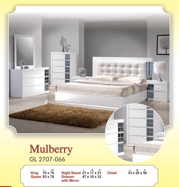 Mulberry bedroom ideas