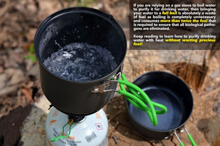 How Long Do You Really Have To Boil Water Before It S Safe To Drink Equip2survive Survival Food Emergency Preparation Boil